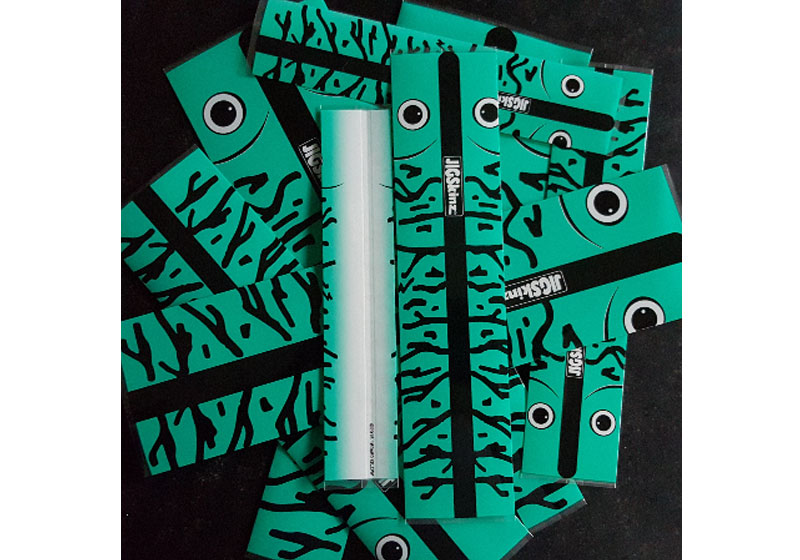 JigSkinz Green Glow mackeler All Size