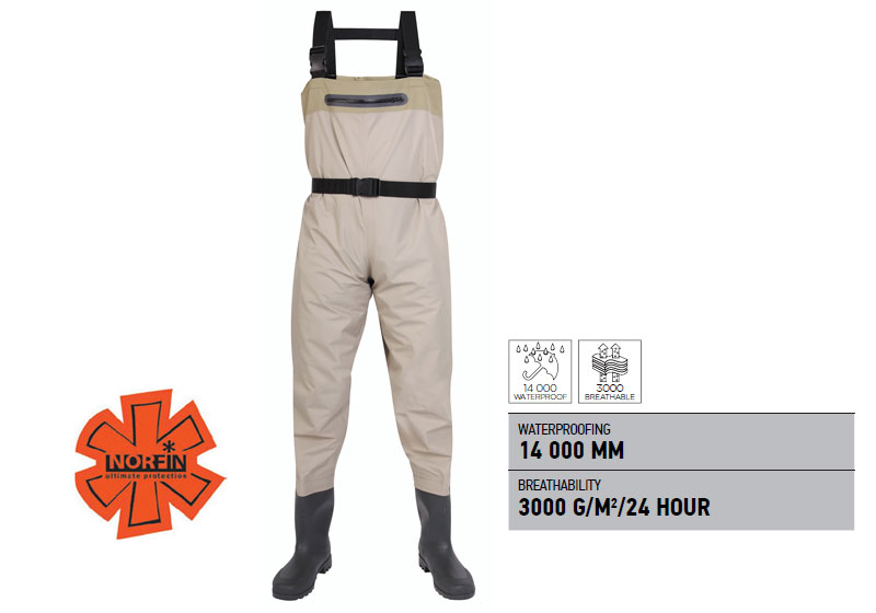 Norfin waders WHITEWATER Boots